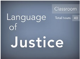Language of Justice